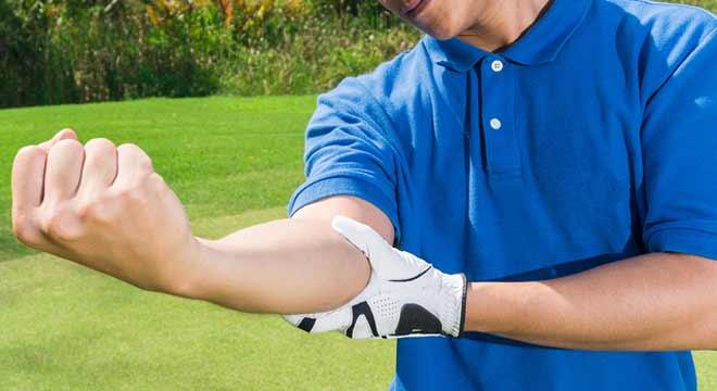 گلف البو یا آرنج گلف بازان چیست و چگونه موجب درد آرنج میشود