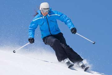 آسیب ورزشی اسکی